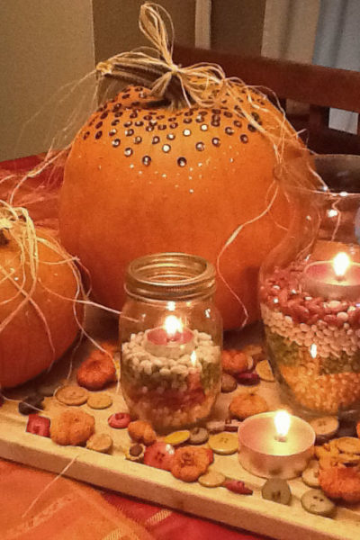 Pinterest Night – Harvest Decor