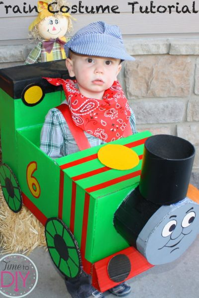Train (Percy) Halloween Costume