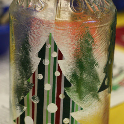 MOPS Craft – Holiday Candle Jars