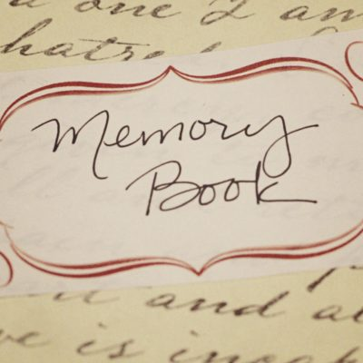 12 Days of Homemade Holiday Gifts Day 10 – Memory Book