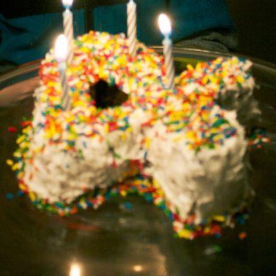 """""""Four"""" Cake"""