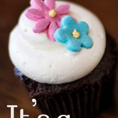 Cupcake Gender Reveal