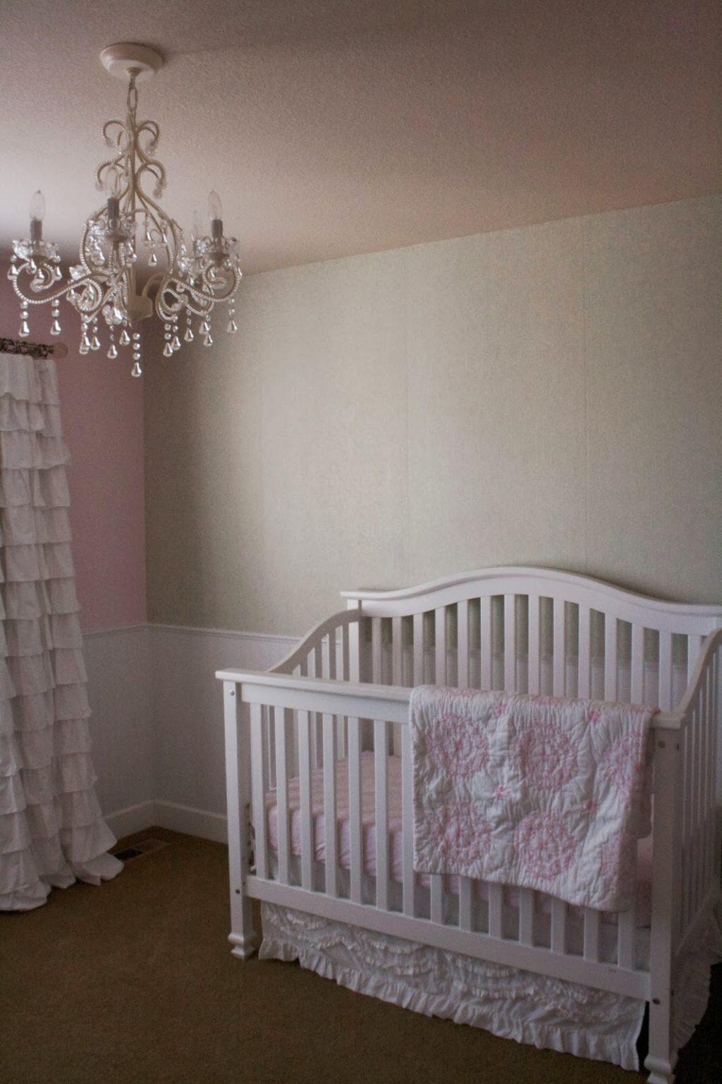 Baby girl nursery phase 1 time to diy baby girl nursery phase 1 arubaitofo Images