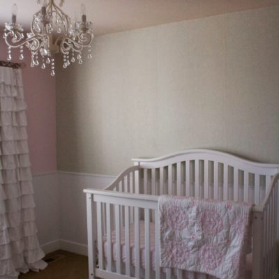 Baby Girl Nursery, Phase 1