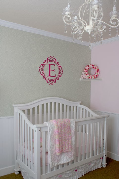 Baby Girl Nursery Phase 2 Time To DIY