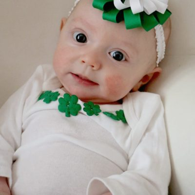 St. Patrick's Day Bow & Ties