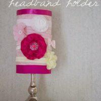 Nursery DIY: Headband Holder
