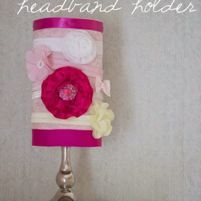 Nursery DIY: Headband Holder
