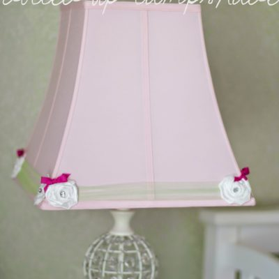 Nursery DIY: Dolled-up Lampshade