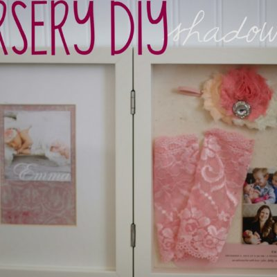Nursery DIY: Don't box it, shadow box it!