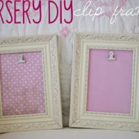 Nursery DIY: Clip Frames