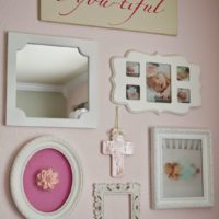 Nursery DIY: Collage Wall