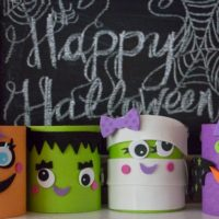 Little Monsters Halloween Craft
