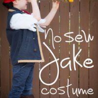 No-Sew Jake [and the Neverland Pirates] Costume