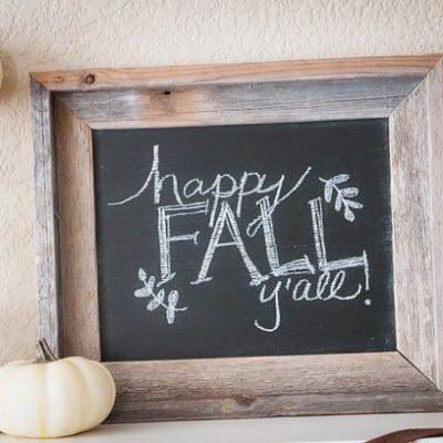 Some fall decor