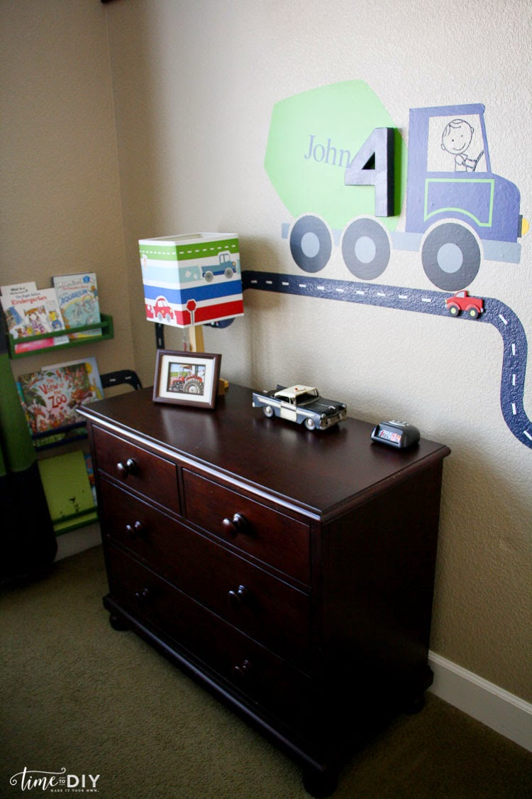 Cars And Trains Boys Room