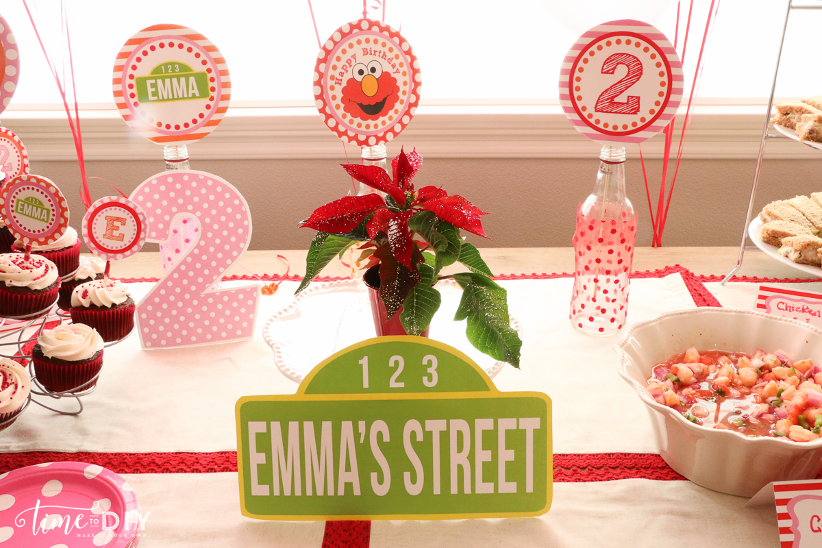 Easy Pink Elmo Party
