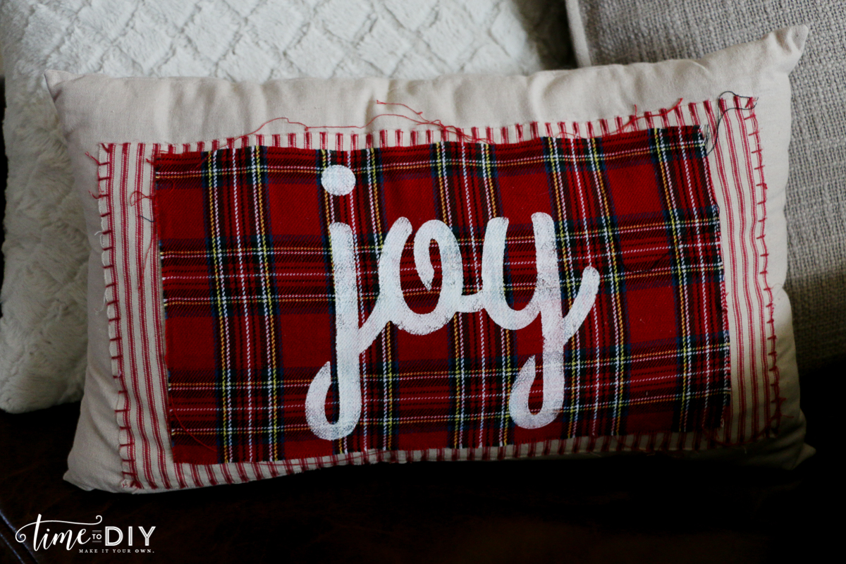 DIY Joy pillow
