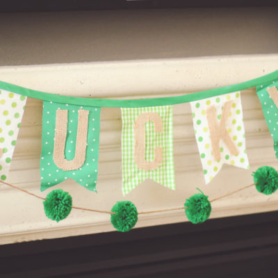 St. Pat's Day Banner