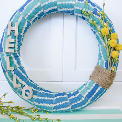 Easy Summer Wreath