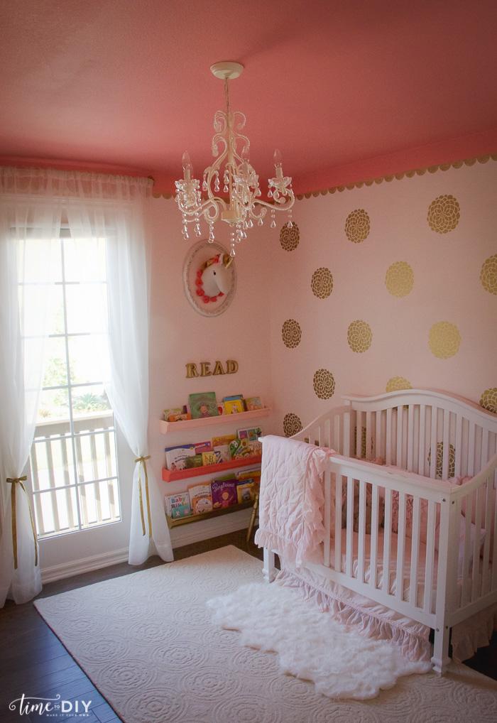 Vintage Glam Toddler Room