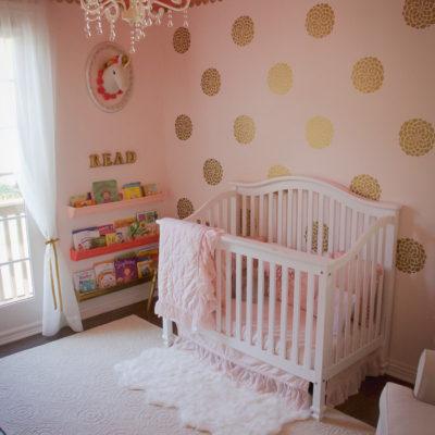 Toddler Room Reveal {One Room Challenge}