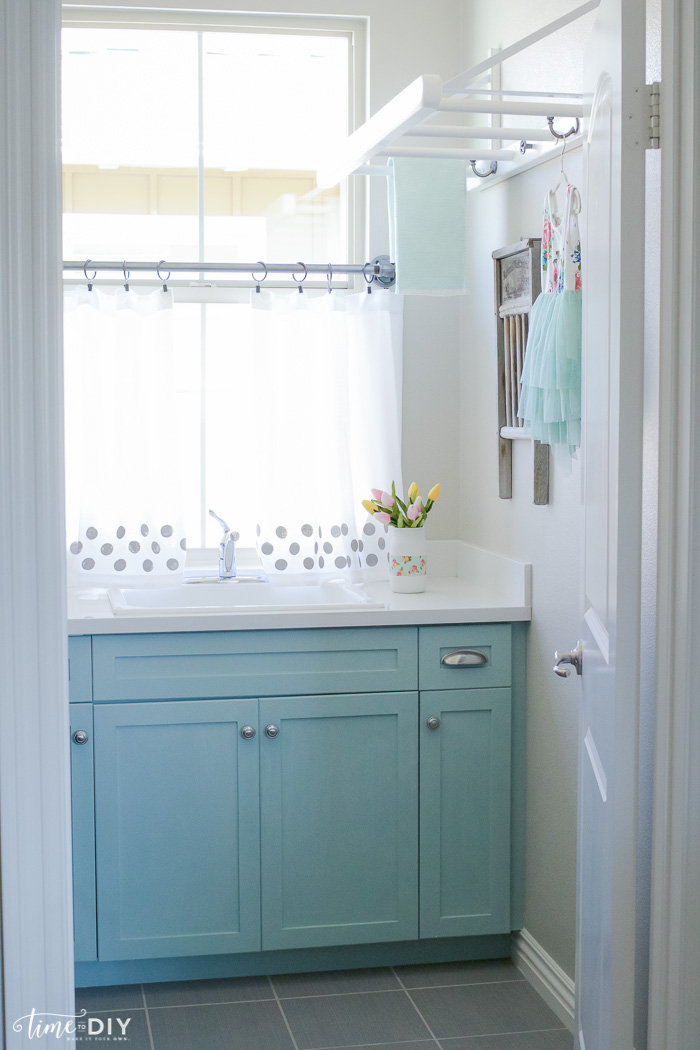 Spruce-Up Laundry Room