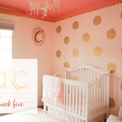 Toddler Room Details {One Room Challenge, Week 5}