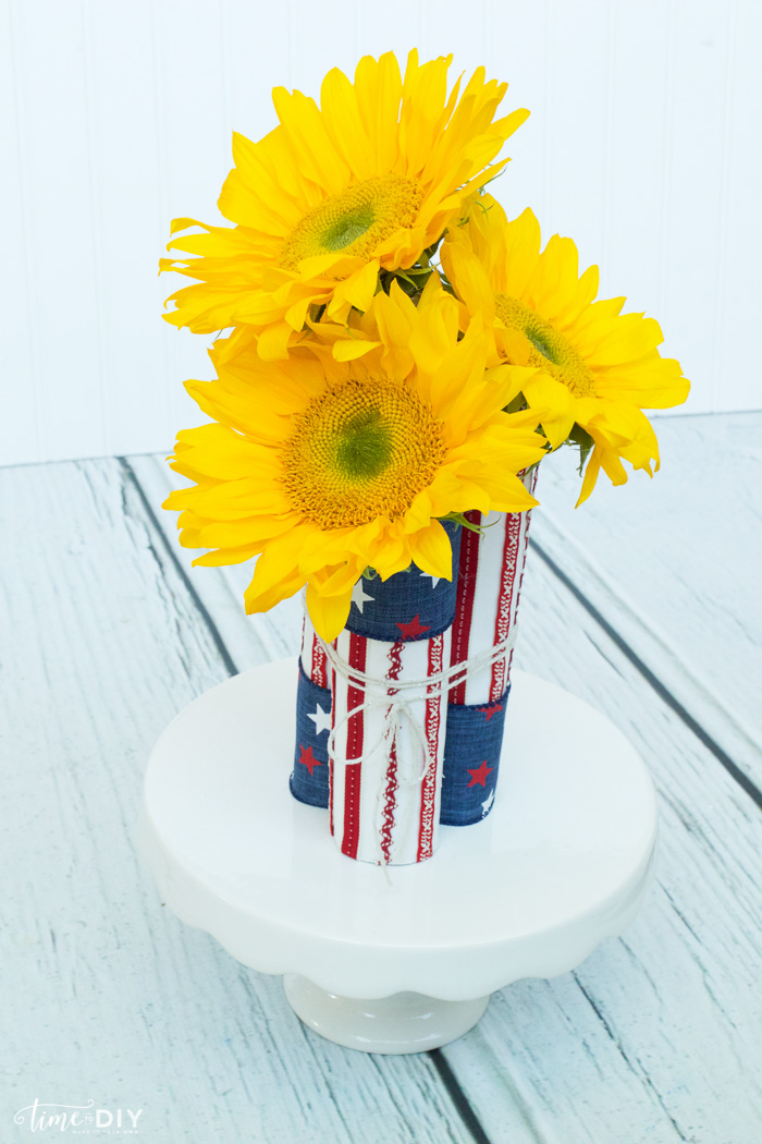 patriotic centerpiece stand