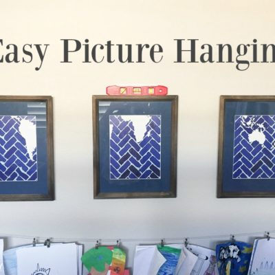 Easy Picture Hanging Method