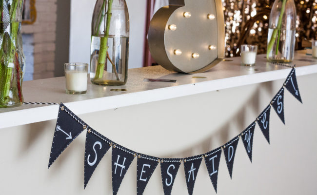 DIY Engagement Party