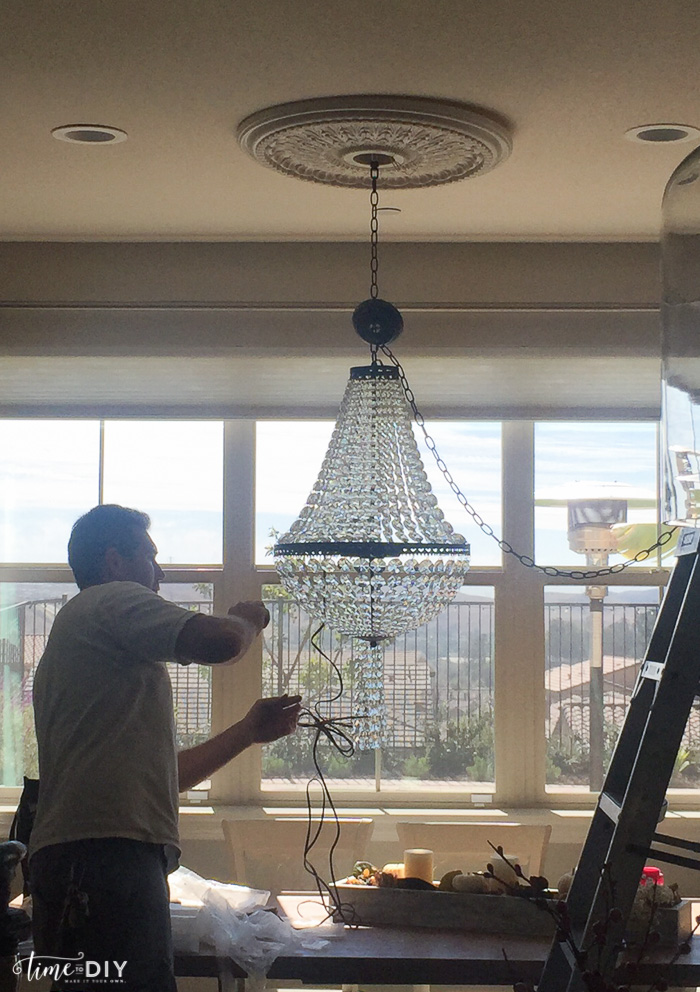 chandelierinstallation