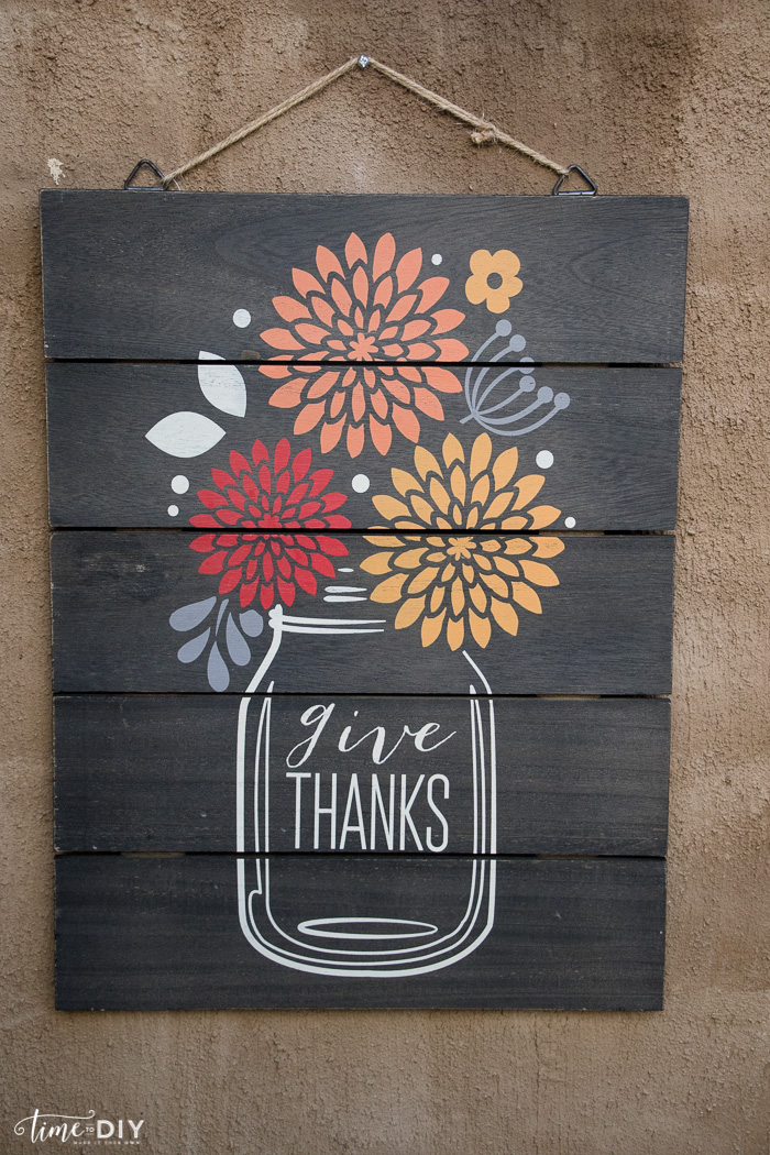 give thanks signs