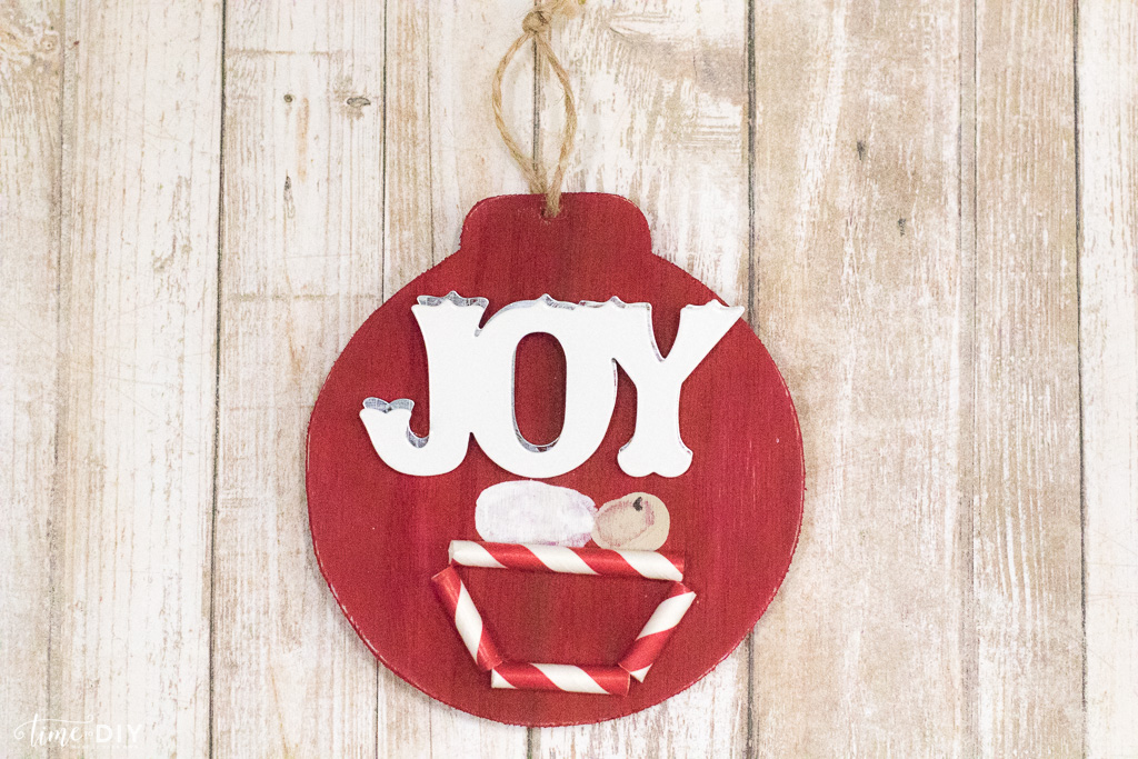 diy joy ornament