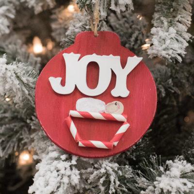 DIY Baby Jesus Ornament