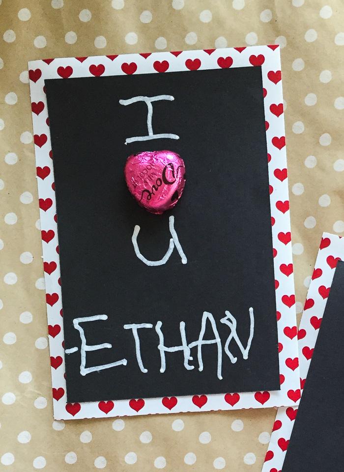 Simple Teacher Valentine