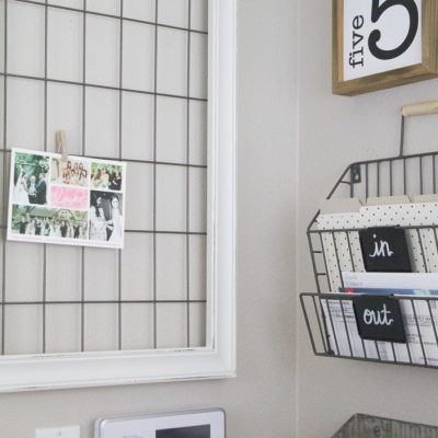 Easy DIY Memo Board