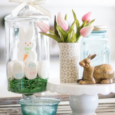 Spring Bunny Centerpiece