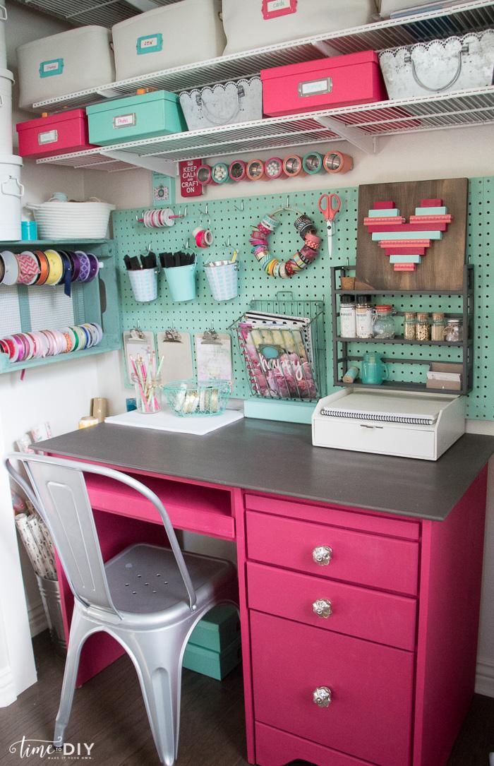 Craft Closet Makeover