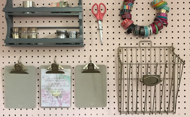Craft Closet Painting {One Room Challenge, Week 4}