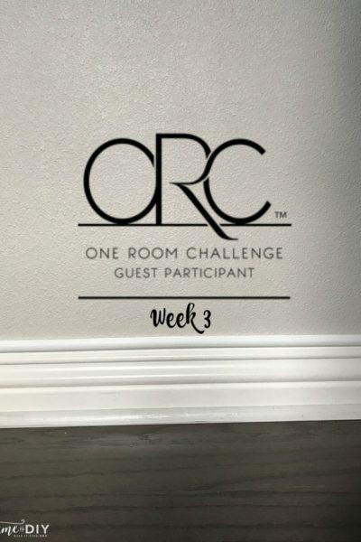 Guest Room Makeover {One Room Challenge, Week 3}