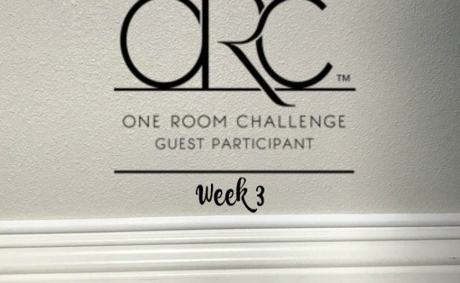 Guest Room Makeover {One Room Challenge, Week 3}