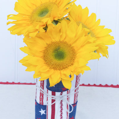 Simple Seasonal Saturdays: Easy Patriotic Centerpiece