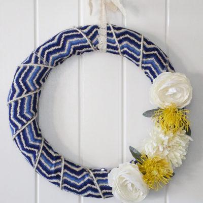 Simple Seasonal Saturdays: Summer Wreath