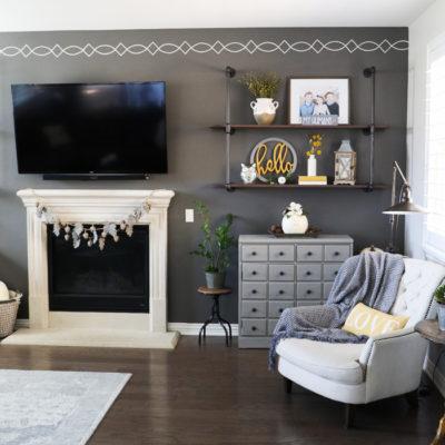 Fall Decor Living Room Tour
