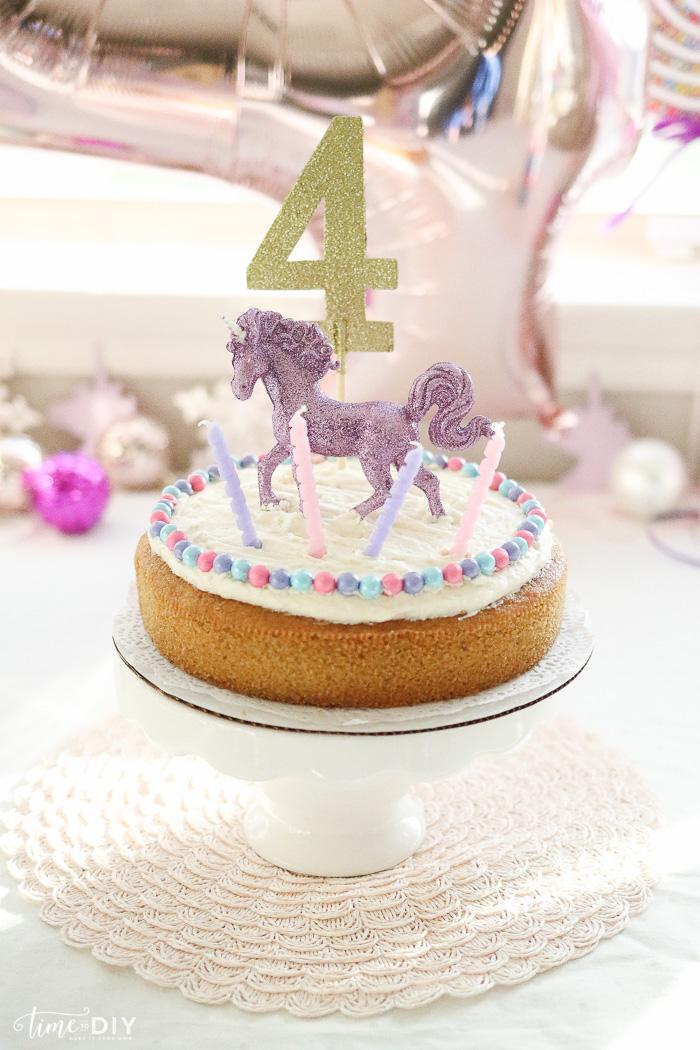 Hobby Lobby Unicorn Cake Toppers