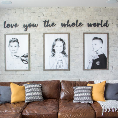 Personalized Wall Art Using Wood Cut-Outs