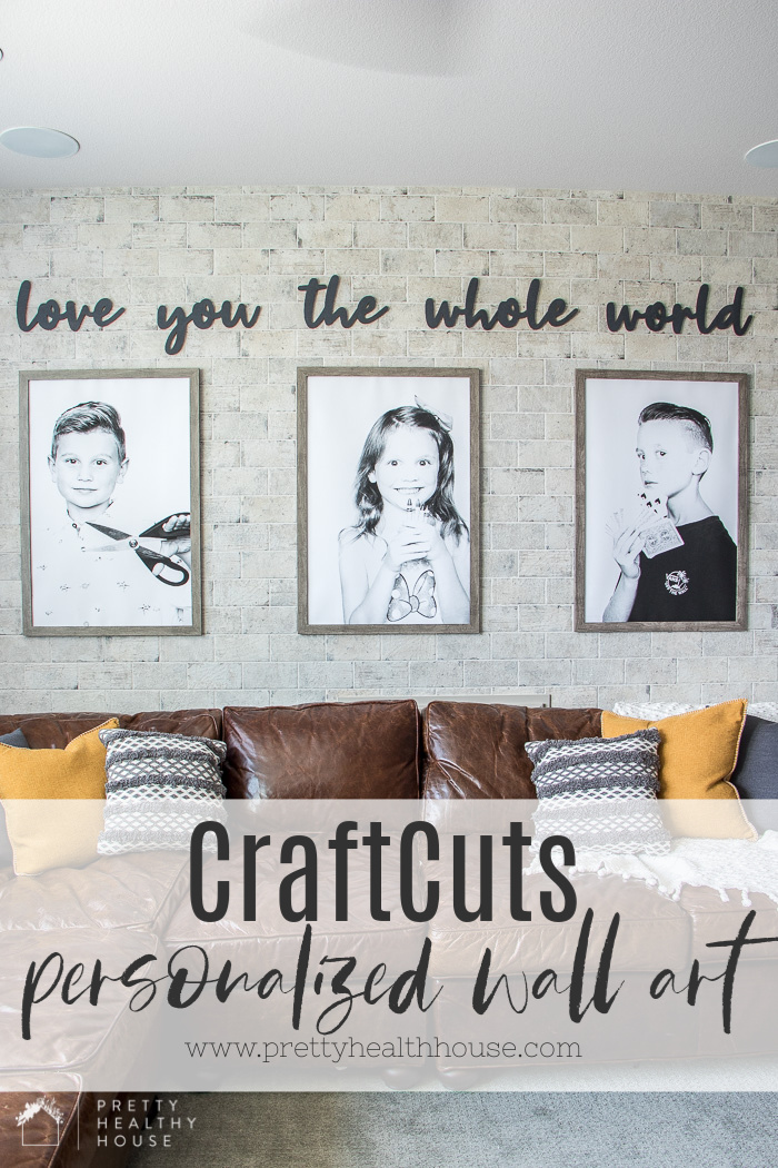 Personalized Wall Art Using Wood Cut Outs Pretty Healthy House